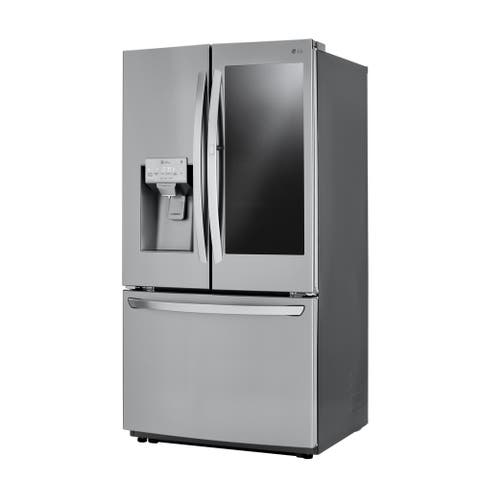 LG LFXC22596S 22 cu. ft. Smart wi-fi Enabled InstaView Door-in-Door® Counter-Depth Refrigerator Stainless Steel