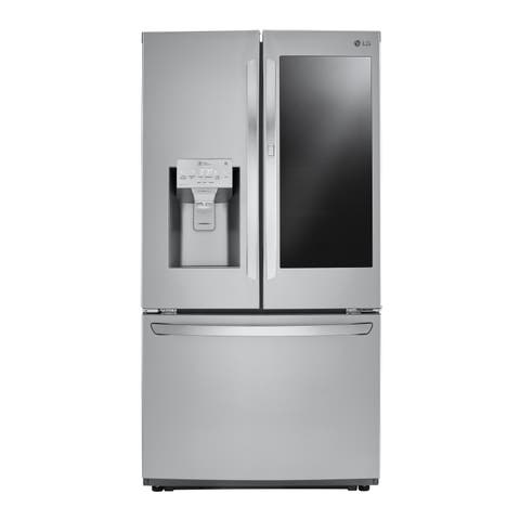 "LG LFXS26596S 26 cu. ft. Smart wi-fi Enabled InstaView Door-in-Door® Refrigerator Stainless Steel - 7'10"" x 10'6"""