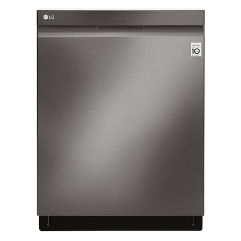 LG LDP6797BD Top Control Smart wi-fi Enabled Dishwasher with QuadWash Black Stainless Steel