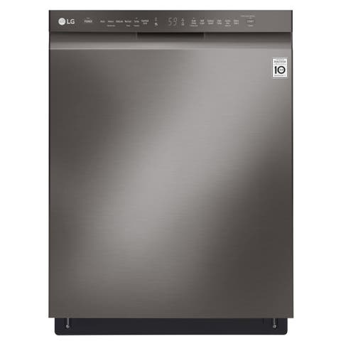 LG LDF5545BD Front Control Dishwasher with QuadWash and EasyRack Plus Black Stainless Steel