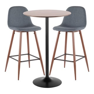 Link to LumiSource Pebble 3-Piece Pub Set Similar Items in Living Room Furniture