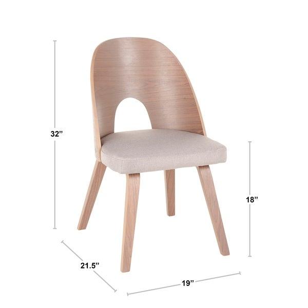 Carson Carrington Creagh Mid-century Modern Dining Chair (Set of 2) - N/A