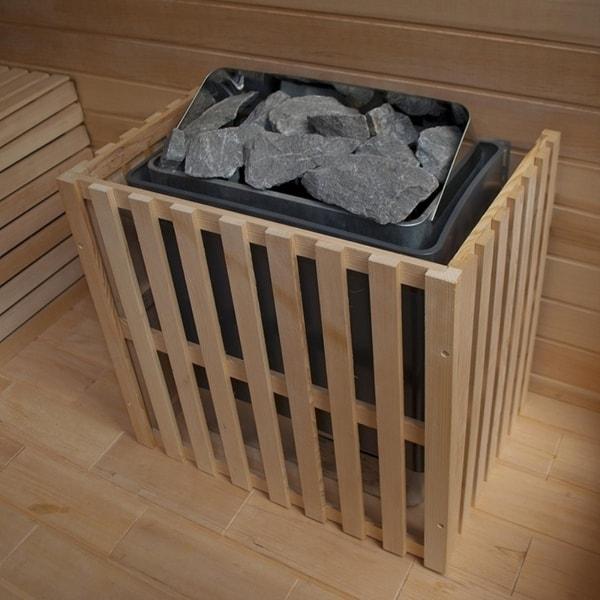 ALEKO 40 LB  High Quality Replacement Sauna Heater Rocks Stones