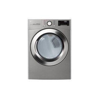 "LG DLEX3700V 7.4 cu. ft. Ultra Large Capacity Smart wi-fi Enabled SteamDryer Graphite Steel - 7'10"" x 10'10"""