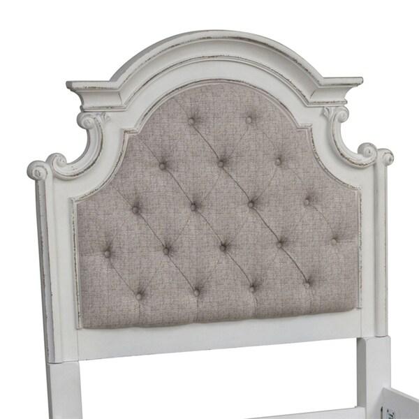 Shop Magnolia Manor Antique White Full Upholstered Panel