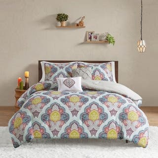 Intelligent Design Jayla Multi Paisley Medallion Print Comforter Set