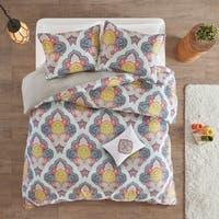 Intelligent Design Jayla Multi Paisley Medallion Print Duvet Cover Set