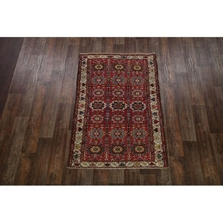 "Vintage Floral Hand Made Traditional Malayer Persian Area Rug - 6'6"" x 4'3"""