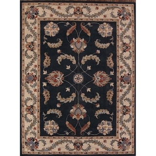 """Traditional Oushak Ziegler Agra Oriental Hand Made Floral Area Rug - 13'1"""" x 9'8"""""""