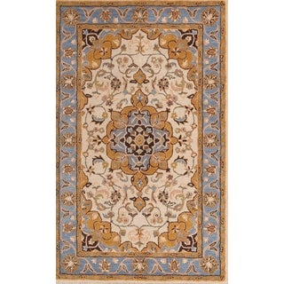 """Copper Grove Haderslev Hand-tufted Traditional Oriental Area Rug - 8'2"""" x 5'2"""""""
