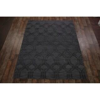 "Copper Grove Trige Oushak Oriental Handmade Wool Floral Heirloom Item Area Rug - 8'1"" x 11'1"""