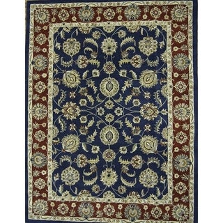 """Copper Grove Sonderborg Hand-tufted Oriental All Over Floral Area Rug - 10'0"""" square"""