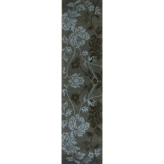 Gracewood Hollow Hanania Tufted Oushak Runner Rug - 9'10 x 2'6