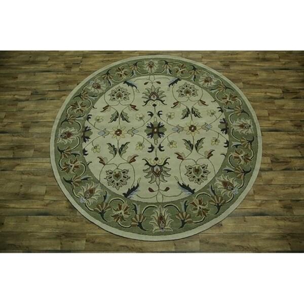 Ziegler Traditional Agra Design Rug: Shop Copper Grove Prerov Handmade Oushak Ziegler