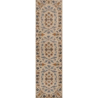 "Copper Grove Huittinen Oriental Hand-tufted Runner Rug - 9'8"" x 2'6"" runner"