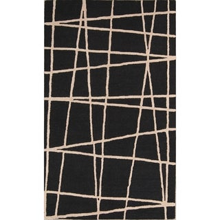 """Strick & Bolton Azito Hand-tufted Abstract Area Rug - 8'0"""" x 5'0"""""""