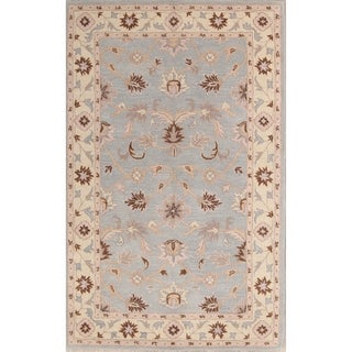 "Copper Grove Taastrup Hand-tufted Indian Floral Classical Oriental Area Rug - 8'0"" x 5'0"""