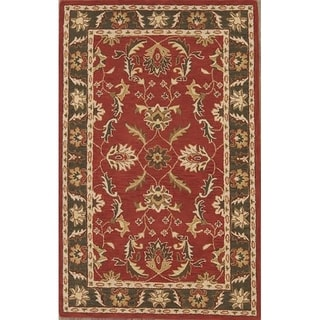 "Gracewood Hollow Almasmari Made Blend Oushak Traditional Oushak Rug - 5'0"" x 8'0"""