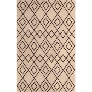 """Porch & Den Caldwell Floral Hand-tufted Oriental Area Rug - 8'0"""" x 5'0"""""""