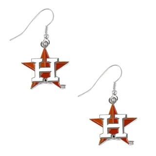 MLB Houston Astros Sports Team Logo Earring Dangle Charm