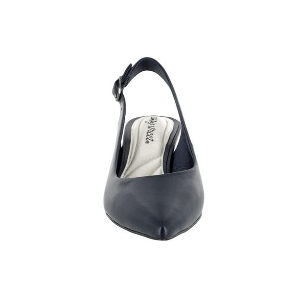 7efe9f61eea Shop Easy Street Faye slingback pump on kitten heel - Free Shipping ...