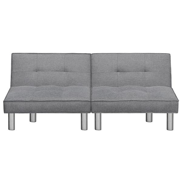 Shop Sleeplanner Futon Sofa Bed With Microfiber Upholstery