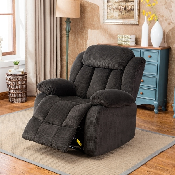 Shop Oversized Recliner Chair Microfiber Cover Living Room