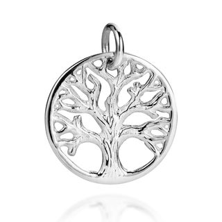 Handmade Mystical Branches Tree Of Life 925 Silver Charm Pendant Thailand
