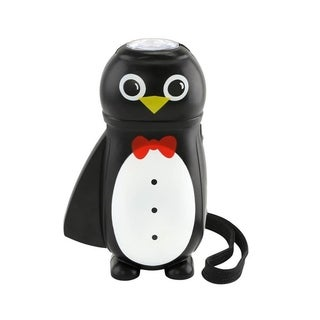 FineLife Plastic Hand Squeezing Tuxedo Wearing Penguin Flashlight