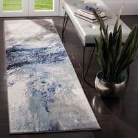 Safavieh Galaxy Transitional Blue / Grey Rug - 8' x 10'