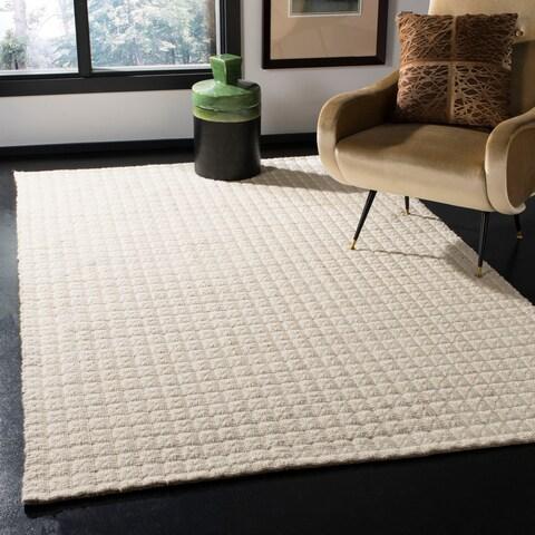 Safavieh Handmade Natura Transitional Ivory Wool Rug - 3' x 5'