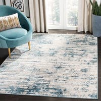 Safavieh Vogue Modern & Contemporary Cream / Teal Rug - 8' x 10'