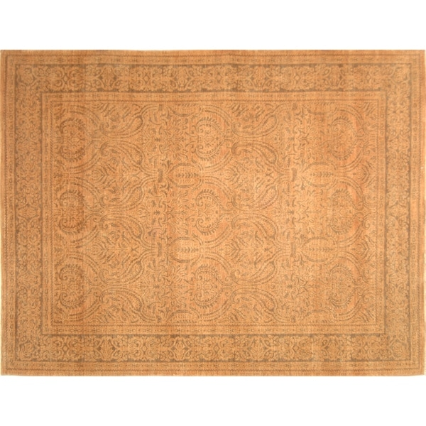 Safavieh Couture Hand-knotted Polonaise Nursal Traditional Oriental Wool Rug with Fringe