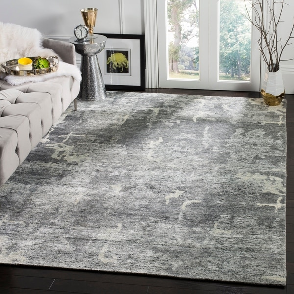 Safavieh Couture Hand-knotted Tibetan Ultima Modern Wool Rug