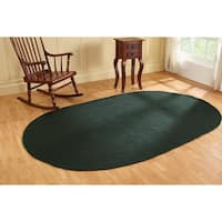 Alpine Braided Rug 20X30 Hunter Solid