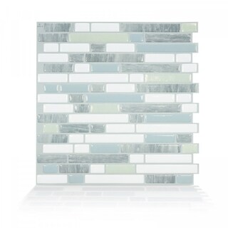 Bellagio Costa 10.06 in. x 10.00 in. Peel and Stick Self-Adhesive Decorative Mosaic Wall Tile Backsplash (4-Pack)