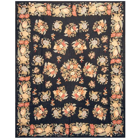 Handmade One-of-a-Kind Wool Rug - 7'10 x 9'10