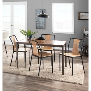 Link to Carson Carrington Cookstown Metal and Wood Dining Chair (Set of 4) Similar Items in Dining Room & Bar Furniture