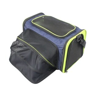 Iconic Pet One-Side Expandable Pet Travel Carrier for Dogs and Cats