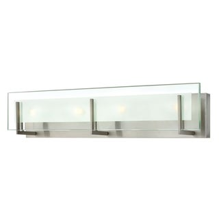 Hinkley Latitude 4-Light Vanity Light in Brushed Nickel