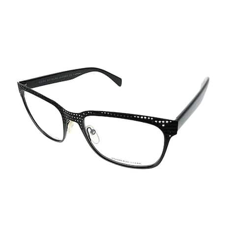 Marc by Marc Jacobs Square MMJ 613 MPZ Unisex Matte Black Weave Frame Eyeglasses