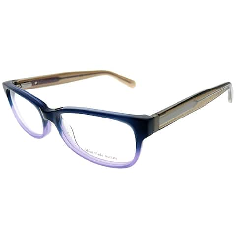 Marc by Marc Jacobs Rectangle MMJ 598 5XR Unisex Blue Gradient Pink Frame Eyeglasses