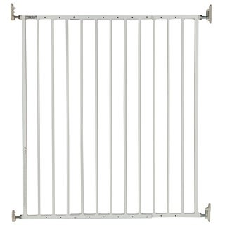 Storkcraft Easy Walk-Thru Metal Safety Gate with One-Hand Quick-Release Lock - 36-inch Tall