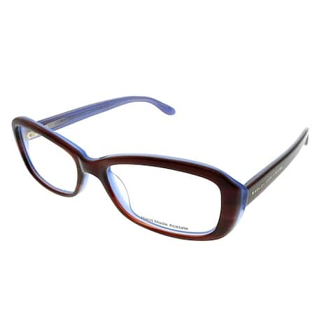 Marc by Marc Jacobs Rectangle MMJ 524 ISK Unisex Havana on Azure Frame Eyeglasses