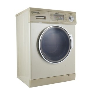 All-in-one 1200 RPM New Version Compact Convertible Combo Washer Dryer with Fully Digital Easy to use Control Panel