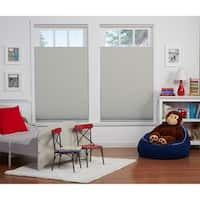 Copper Grove Yerevan 64-inch Grey/White Blackout Top Down/Bottom Up Shade