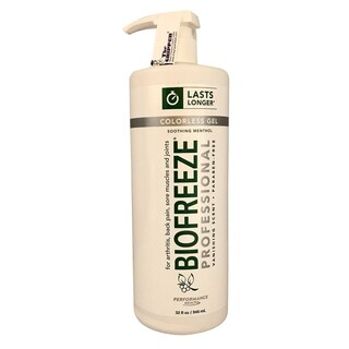 Biofreeze 32-ounce Professional Colorless Gel