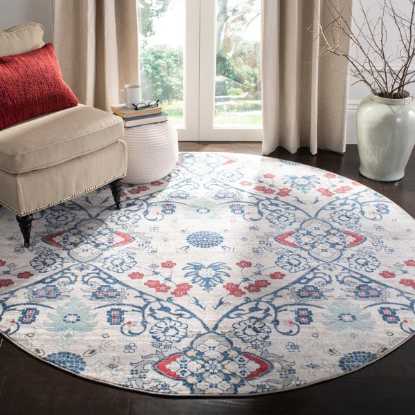 Safavieh Brentwood Gwyneth Navy / Grey Rug - 9' x 12'