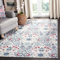 "Safavieh Brentwood Gwyneth Navy / Grey Rug - 5'3"" x 7'6"""