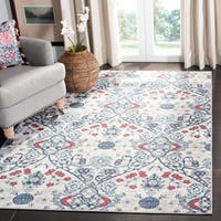 Safavieh Brentwood Gwyneth Navy / Grey Rug - 4' x 6'